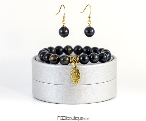 BlackQueen_BlackAgate_Earrings_front