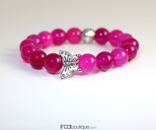 Bracelet_PinkAgate_Butterfly010101031Front