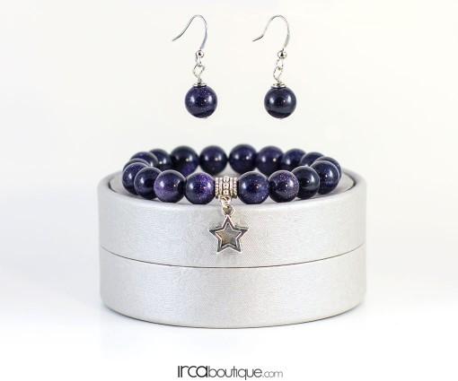 Galaxy_BlueGoldstone_Earrings_front